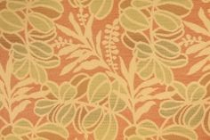 Breeze in Melon Outdura Woven Acrylic Outdoor Fabric $14.95 per yard