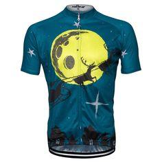 Mens festive theme cycle jersey