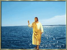 Bible story of Jesus walking on water. Description from background-pictures.fbistan.com. I searched for this on bing.com/images