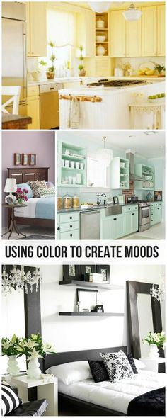 Home Decorating: Using Color to Create Moods!