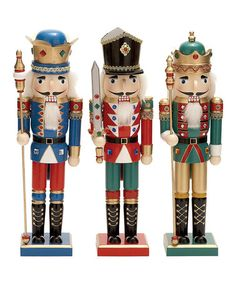 Take a look at this Regal Nutcracker Set by UMA Enterprises on #zulily today!