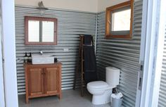 Classic Aussie shearing shed ideal home Outdoor Bathrooms, Rustic Bathrooms, Shed Plans, House Plans, Shed Design, House Design, Garden Design, Farm Shed, D House