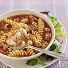 Lasagna Soup (recipe: http://di.sn/e5l)