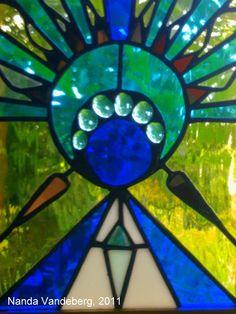 Tiffany Glass Goddess