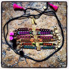 Get #festival ready for #Glastonbury with #danalevy #alphabeta #friendshipbracelets
