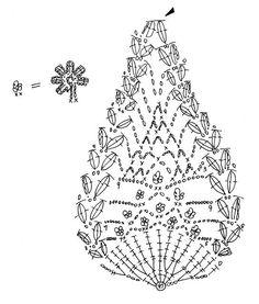 花かごのモチーフ(編み図付き) : Crochet a little