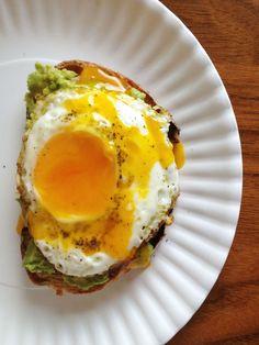 Olive Oil Avocado Toast