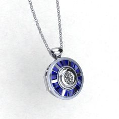 The droid inspired locket is perfect for keepsakes (such as the plans for the Death Star) Made to the same dimensions and baguettes as our