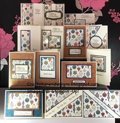 Homemade Christmas Cards, Stampin Up Christmas, Homemade Cards, Christmas Paper, Christmas Ideas, Xmas Cards, Holiday Cards, Thanksgiving Cards, Card Making Templates