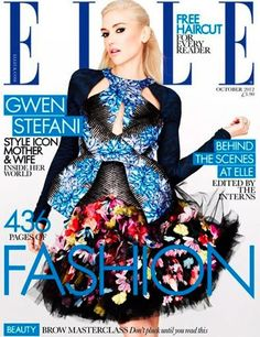 Elle UK october 2012 Gwen Stefani