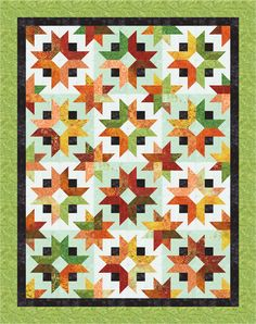 Tonga Sunburst- Daybreak Color Option- Cozy Quilt Designs