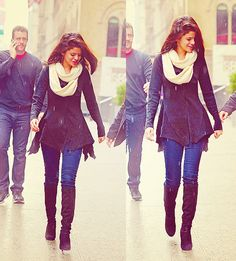 Selena Gomez winter outfit