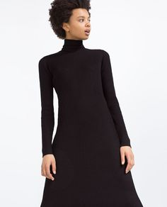 Image 2 of RIBBED DRESS from Zara