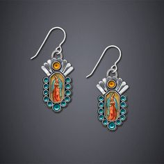 Lady of Guadalupe Earrings II - bijou graphique