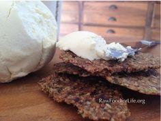 Raw Vegan Almond Feta by RawFoodforLife.org
