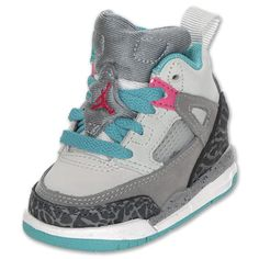 These WILL be Lily's first walking shoes! Just like her Daddy :)  baby jordans!