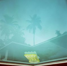 photograph of pool by Karine Laval at Bonni Benrubi Gallery