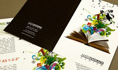 Brochure Design Tips #1 Decide on a concept, theme and structure