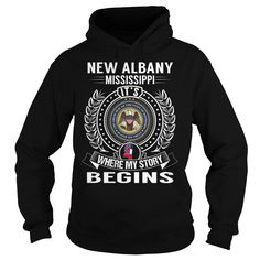 New Albany, Mississippi Its Where My Story Begins