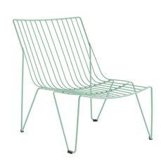 Monaco Lounge-Stuhl für Innen und Außen.