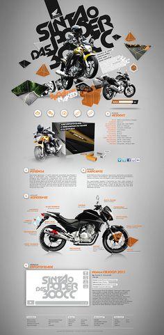 Honda CB300R by Daniel Cassa Ciccarelli, via Behance | #webdesign #it #web #design #layout #userinterface #website #webdesign <<< repinned by an #advertising #agency from #Hamburg / #Germany - www.BlickeDeeler.de | Follow us on www.facebook.com/BlickeDeeler