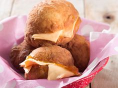 Vetkoek (magwinya) • They're everyone's favourite. Serve them with jam and cheese as we have or pick any sweet or savoury topping of your choice.