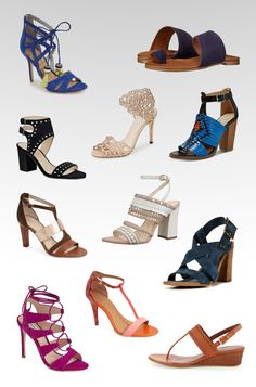 Wednesday Wish List: Spring Shoes