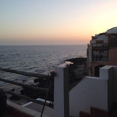 you can always enjoy a beautiful sunset on the roof terrace at our surf camp