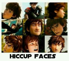 Hiccups hotest faces