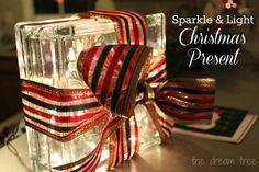 the dream tree: {diy} Sparkle & Light Christmas Present