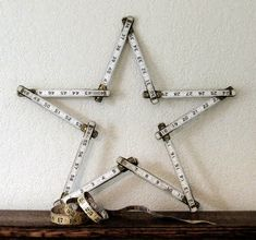 table tonic blog: vintage carpenter's ruler star