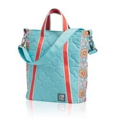 Vertical Tote - Casablanca Blue  www.daniellesdives.com