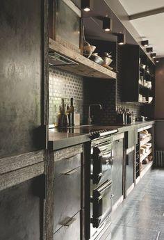 duplex avec terrasse paris - Les Kitchen