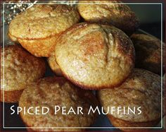 Delicious spiced pear muffins and other baked goods at Midwest Coffee Roasting Company Marion Indiana | dining Marion Indiana | coffee shops Marion Indiana | Grant County Indiana