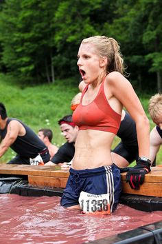 Cold As All Hell Girl At Tough Mudder Gets The Photoshop Treatment Tough Mudder, Girls Who Workout, Gym Girls, Live Girls, Spartan Race, Daddy Yankee, Healthy People 2020 Goals, Yoga, Sport Girl