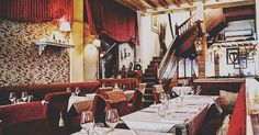 Paris Dining: Jean Restaurant is known for its amazing French cuisine near les Galeries Lafayette. Places Around The World, Around The Worlds, French Restaurants, Galeries Lafayette, Places To Eat, My Dream, Table Settings, Paris, Dining