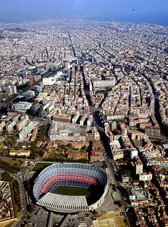 vista camp nou 10 Interesting facts about the Camp Nou Stadium in Barcelona