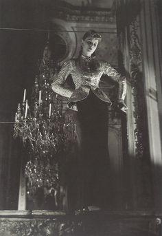 Ensemble Balenciaga, Paris, 1940. Silver gelatin by Andre Durst