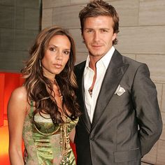 david and victoria beckham - Google- They just look good together, right?  She makes having 4 kids look possible, but then again nannies help a lot too.