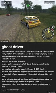 This is a True Story about Ghost, Father and Xbox...