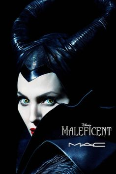 The Maleficent makeup collection for MAC launches online today.