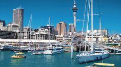 Puerto Auckland - Nueva Zelanda