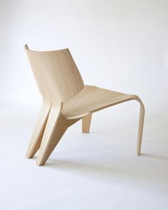 Split Chair Is A Minimalist Design Created By Canada Based Designer Bahar  Ghaemi. The Chair Is A Streamlined And Low Sitting Lounge Construc.