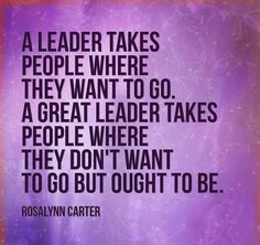 Real leadership is providing an inspiring vision, genuine support, positive action, and an encouraging example in helping others to fulfill their own greatest potential—even if this means moving beyond what's comfortable. It is teaching and training and involving others, and helping them to succeed in making progress along the pathway of transformation. It is expecting the best from others, and assisting them to see how their own participation and contribution counts—and is making a…