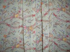 Sage Green Sea Life Botanical Print Pure Silk Chiffon Fabric --One Yard. $19.88, via Etsy.