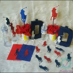 Check out this item in my Etsy shop https://www.etsy.com/listing/260437795/polo-party-in-a-box-custom-personalized
