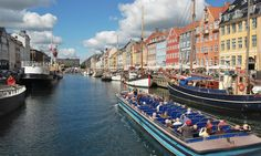 A kanalrundfart (canal tour) is an enjoyable, lazy way to tick off the key sights i the city. http://www.secretearth.com/attractions/392-cruise-copenhagen-s-canals
