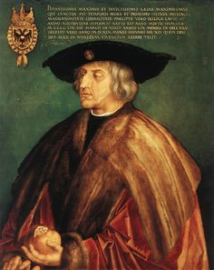 Excerpt: Maximilian I (22 March 1459 – 12 January 1519), the son of Frederick III, Holy Roman Emperor and Eleanor of Portugal, was King of the Romans (also known as King of the Germans) from 1486 and Holy Roman Emperor from 1493 until his death, though he was never in fact crowned by the Pope, the journey to Rome always being too risky.