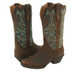 Justin Western Boots Womens 8.5 Justin J Flex CowGirl Boots Sorrel Apache/Turquoise Tried on but Never Worn TRADE IS FOR FULL RETAIL VALUE $189  Cowboy Country Jeans Flannel Horses Riding Mud Southern Charm Justin Shoes Winter & Rain Boots