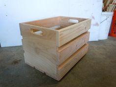 Storage crates - by CodyM @ LumberJocks.com ~ woodworking community
